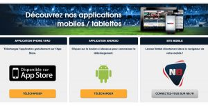 Application mobile Netbet