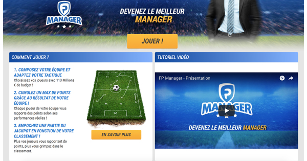 Fantasy League France Pari