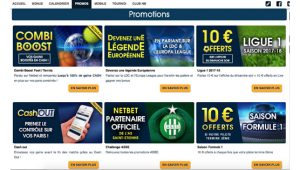 Promotions Netbet