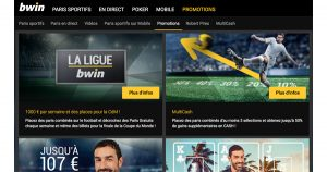 Promotions Bwin