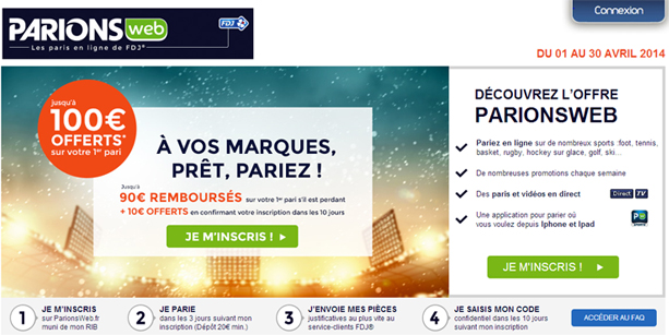 bookmakeravec cote direct avec omparateur