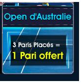NetBet Open d'Australie pari