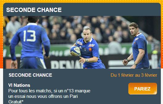 seconde chance 6 nations pmu