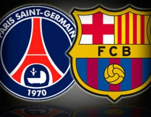 match psg fc barcelone cotes pronostic avril 2013