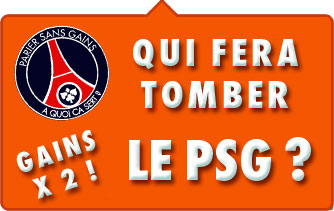 JOA Online PSG doublez vos gains paris sportifs
