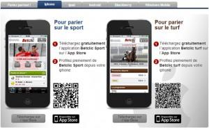 BetClic mobile ipad iphone paris sportifs
