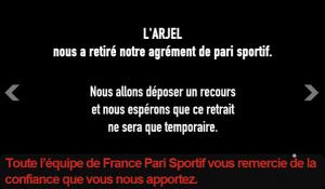 france-pari-sportif agrément arjel