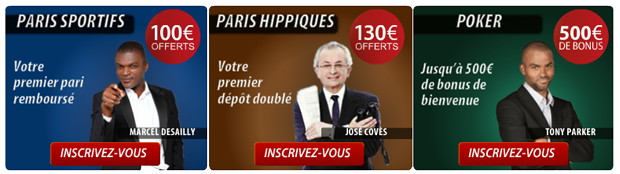 bookmakers bonus comparatif paris sportifs turf poker