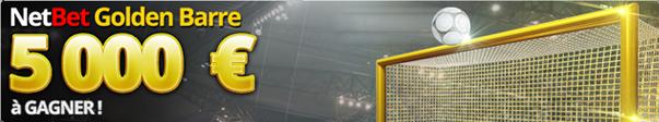 promotion netbet golden barre paris sportifs