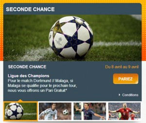 seconde chance pmu C1 C3 paris sportifs