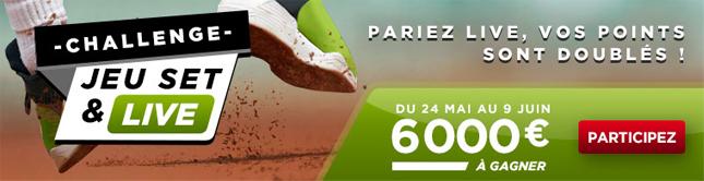 parier Roland Garros 2013 betclic