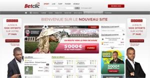 bookmaker betclic paris sportifs