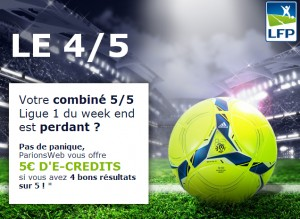 parionsweb ligue 1 combiné paris sportifs