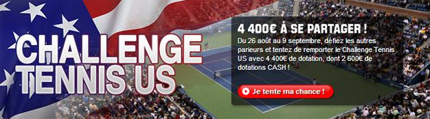 challenge unibet tennis