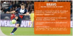 PMU Ligue 1 paris sportifs