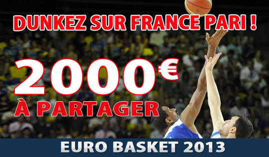 france pari euro basket