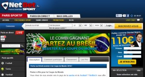 netbet paris sportifs football