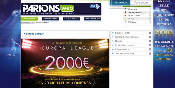parionsweb football