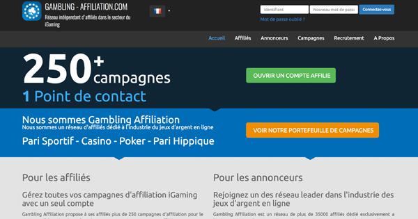 affiliation paris sportifs
