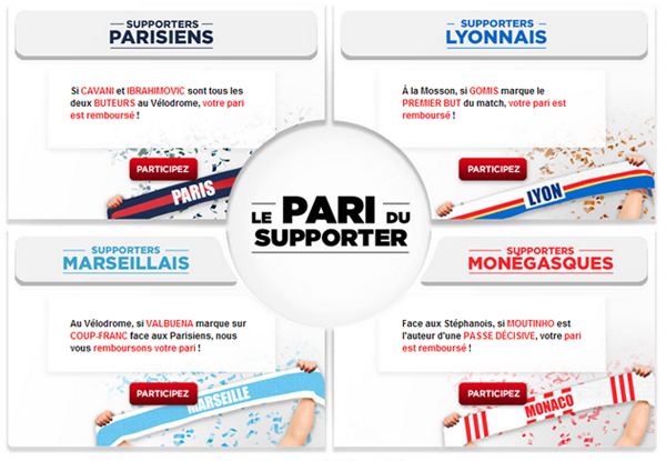 betclic paris sportifs supporter