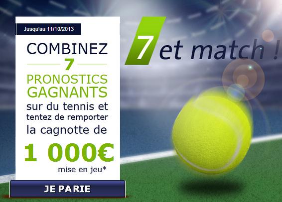 parier sur le tennis