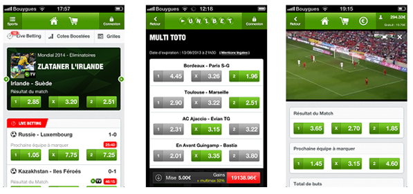 paris mobile unibet