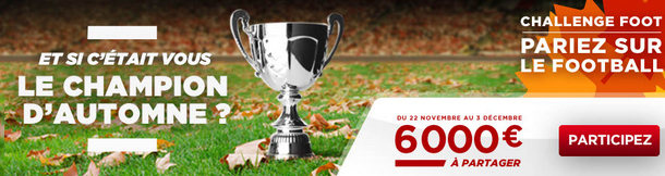 challenge automne paris football betclic