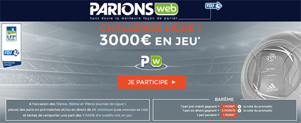 Challenge ParionsWeb Ligue 1