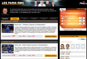 Pronostics RMC football