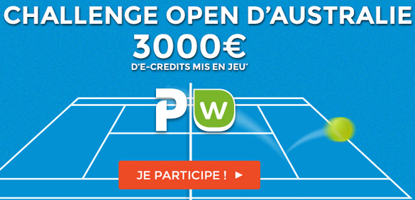 Open d'Australie ParionsWeb