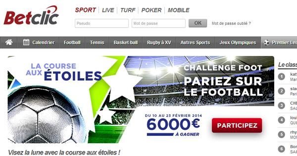 Ligue des Champions : Course aux Etoiles BetClic