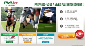 Bonus PMU : 200€ offerts