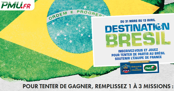 Challenge PMU: Coupe du Monde 2014