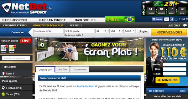 Concours Netbet Sport