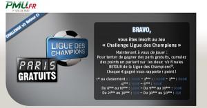 PMU : Retours de Ligue des Champions