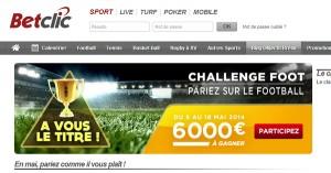 BetClic challenge mai 2014