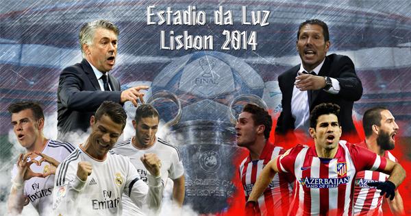 Composition finale ligue des champions 2014, Real Madrid Atletico