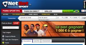 Roland Garros : Netbet et le pari gagnant