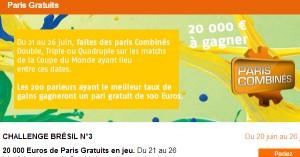 Challenge PMU N°3 : Coupe du Monde