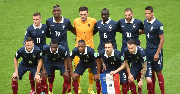 Composition France Equateur, 25 juin 2014