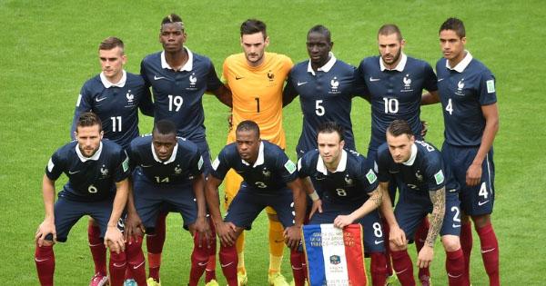 Composition France Equateur, 25 juin 2014