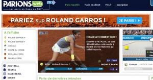 ParionsWeb : Concours tennis 2014
