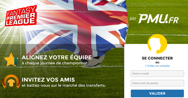Fantasy Premier League : PMU paris sportifs