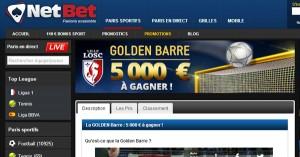Golden Barre Netbet