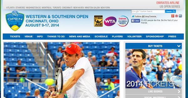 ParionsWeb : Masters de tennis de Cincinnati 2014