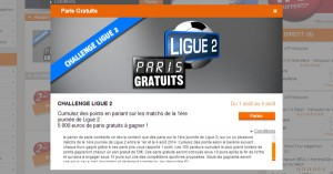 PMU : 5000€ reprise de la Ligue 2