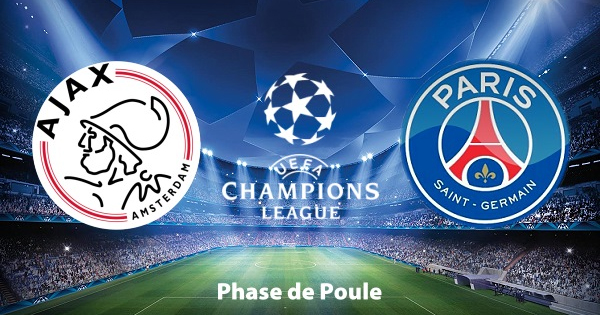 Composition Ajax Amsterdam PSG