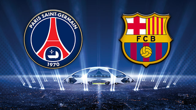 Composition PSG FC Barcelone, 30 septembre 2014