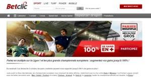 BetClic : Paris sportifs et bonus