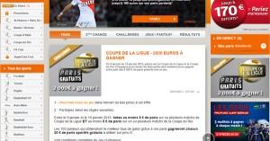 PMU : Challenge Coupe de la Ligue